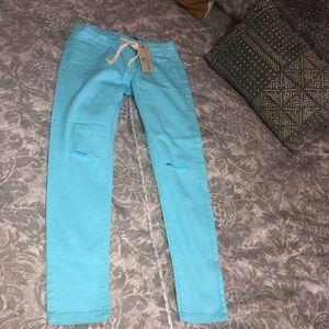 NWT American Bazi Skinny Pants L *Fits S-M